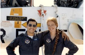 Eric and Carol, many years before the plane crash